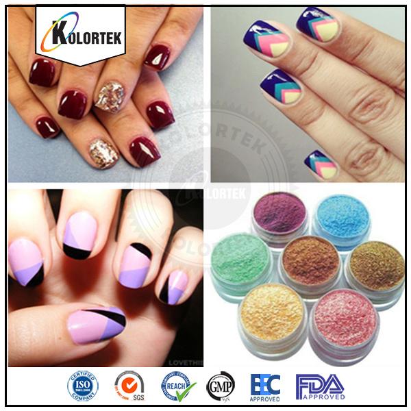 China High Light Pearl Nail Polish Pigment, Colorful Mica Powders ...