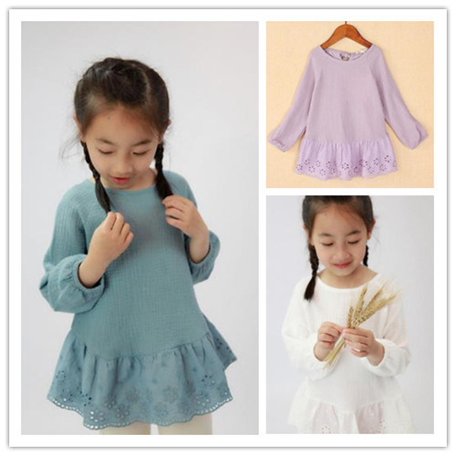 2015 Autumn Fashion and Pretty Healthy Fabric, High Quality Cotton Kids Inner Wear for Girls