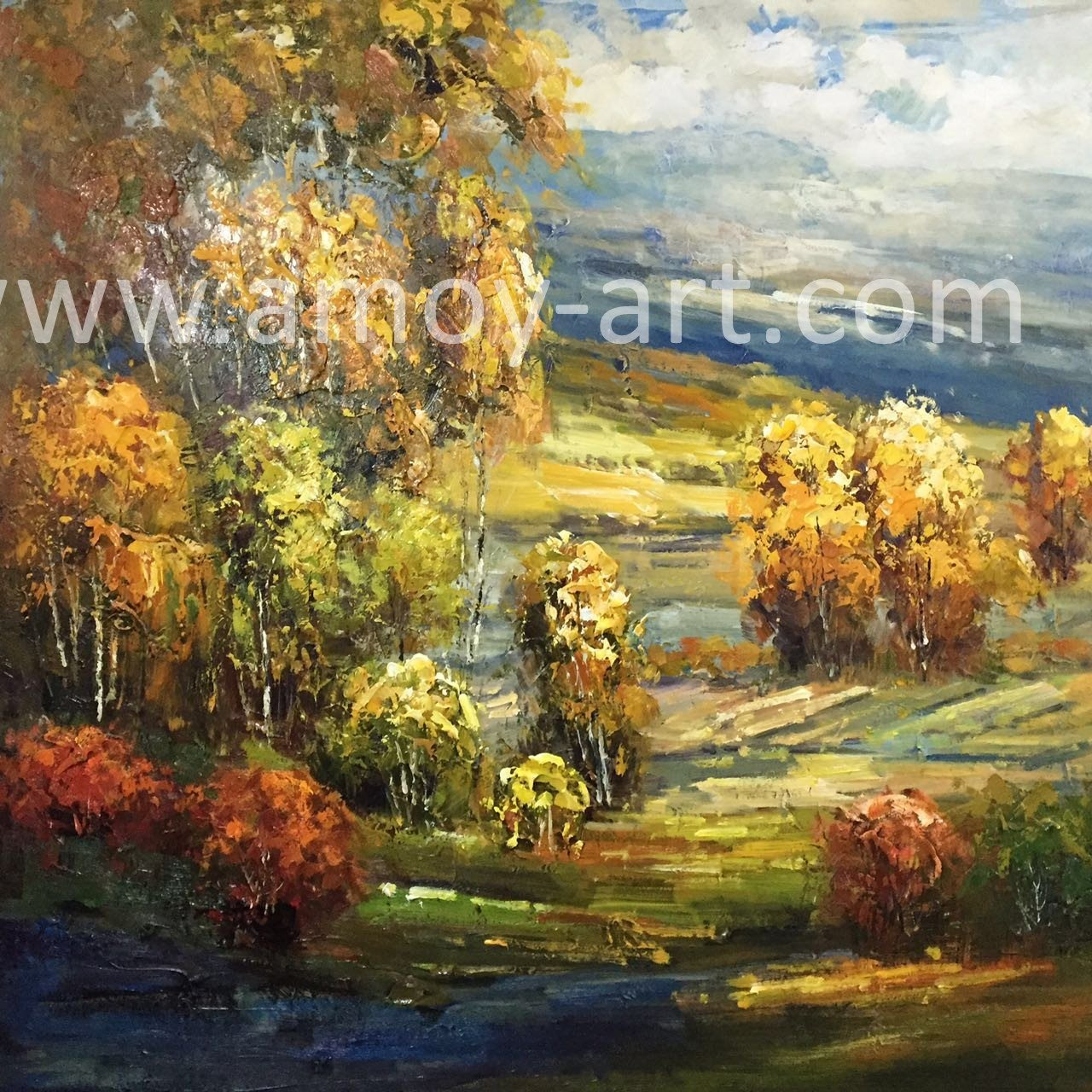 China High Quality Forestry Landscape Oil Painting for Wall Decor ...