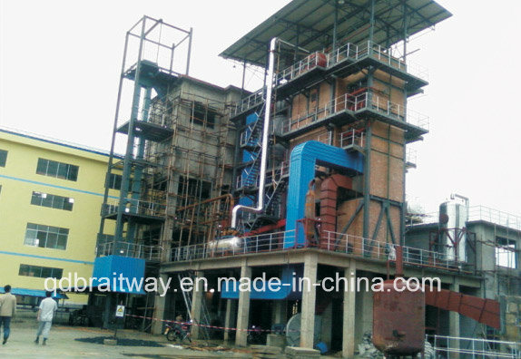 Coal Boilers of 4-12 T/H Circulating Fluidized Bed Steam Boiler for Industrial Use (CFB)