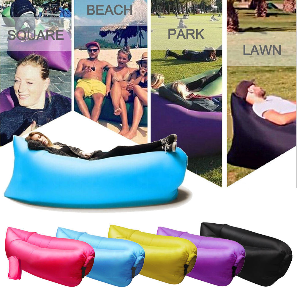 inflatable lounge furniture. Outdoor Fast Inflatable Bed Air Sleep Sofa Lounge, Couch Furniture Sleeping Lounger Lounge U