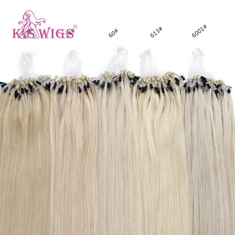 China Top Quality 7a Grade Brazilian Human Hair Micro Loop Hair