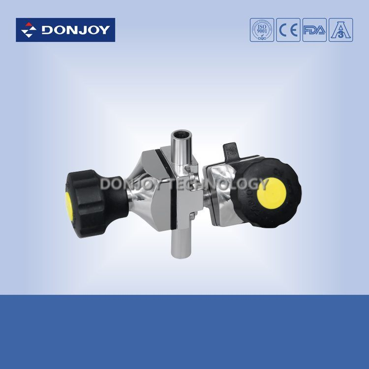 Mini Type Ss 316L Pneumatic Diaphragm Valve (Clamp Ends) pictures & photos
