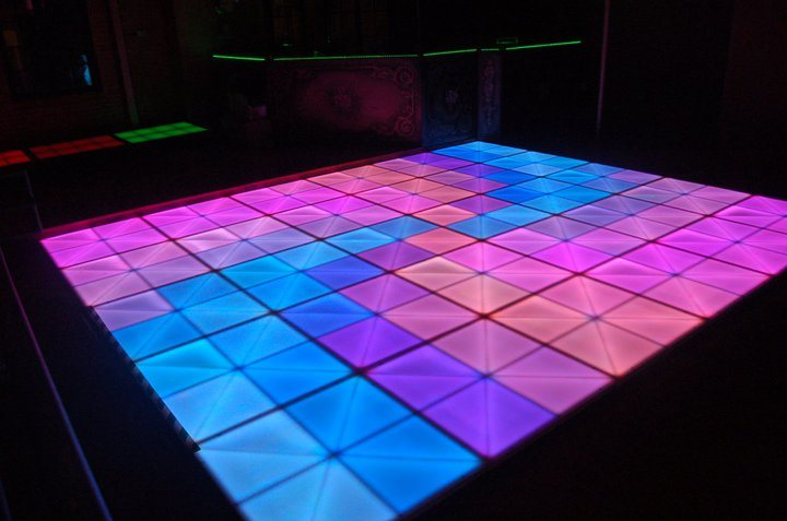 China Multi Color Changing Night Club Light Dyeing LED ...
