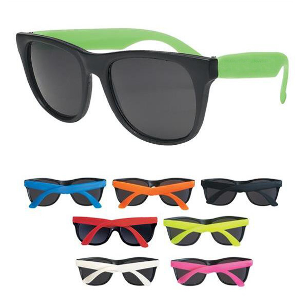 ea712380e3 China Retro Neon Rubber Cheap Promotional Sunglasses with FDA and Ce -  China Sunglass