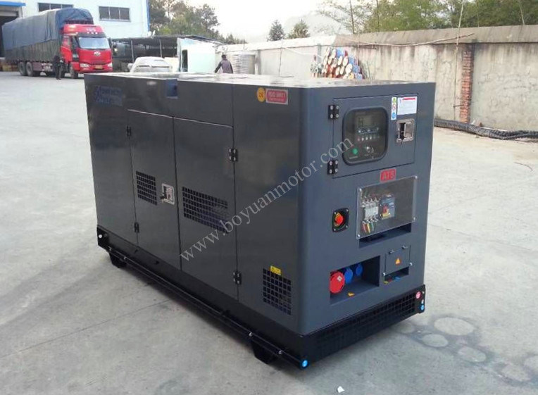 Silent Diesel Generator Set with Perkins Engine 500kw / 625kVA