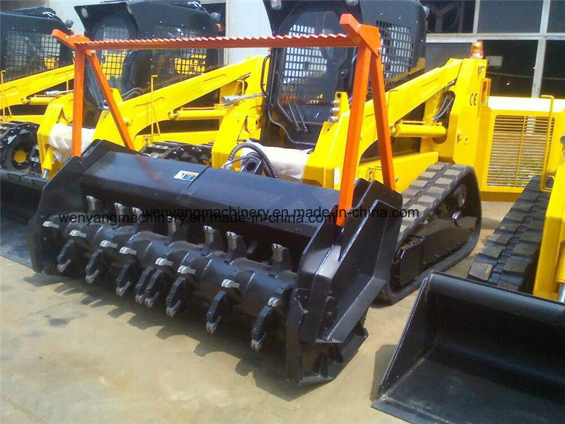 [Hot Item] 100HP Track Skid Steer Loaders with Heavy Duty Forestry Mulcher