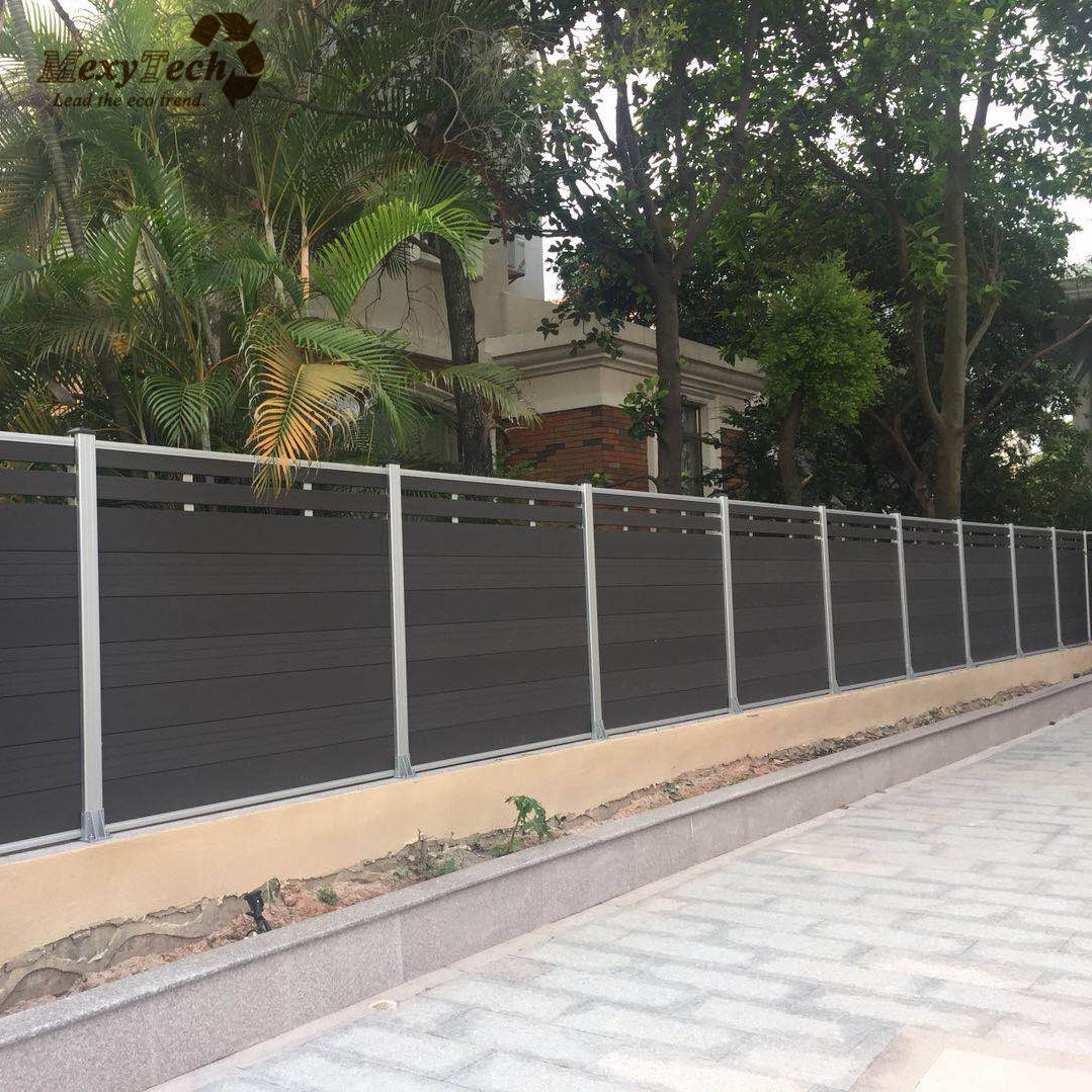 Picture of: China Wholesale Cheap Garden Wpc Aluminum Composite Fence Panels For Garden Pool Park Villa China Fence Panels And Wpc Panels Price