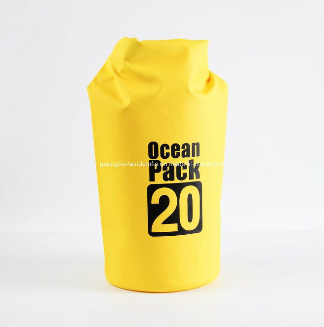 Cheap Wholesale Yellow PVC Ocean Pack Dry Bag pictures & photos