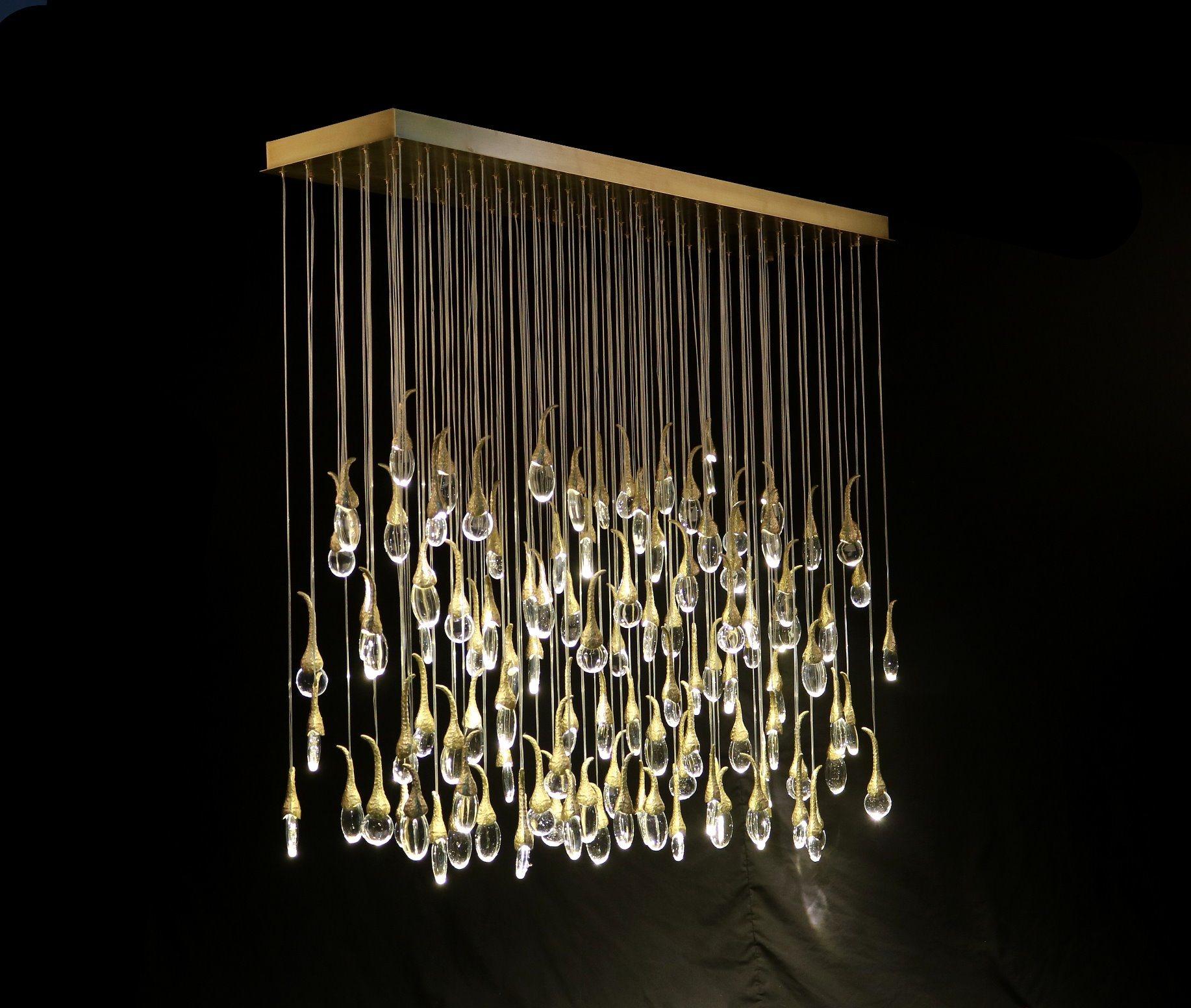 China Ochre Seed Pendant Lamp Lighting