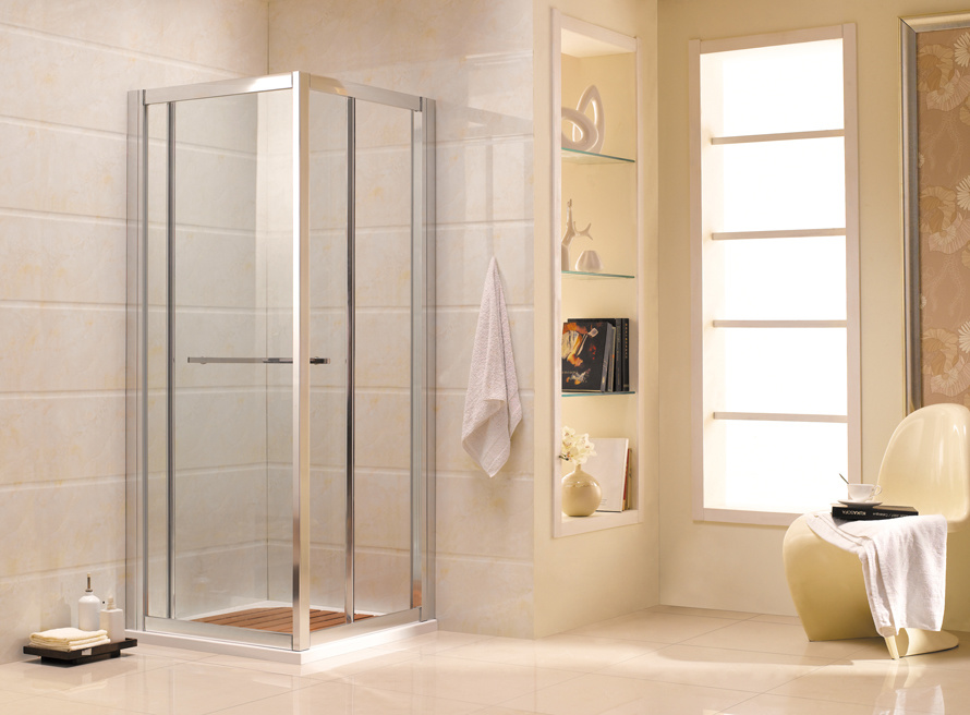China Australian Approved Bathroom Sliding Door Frame Shower Screens ...
