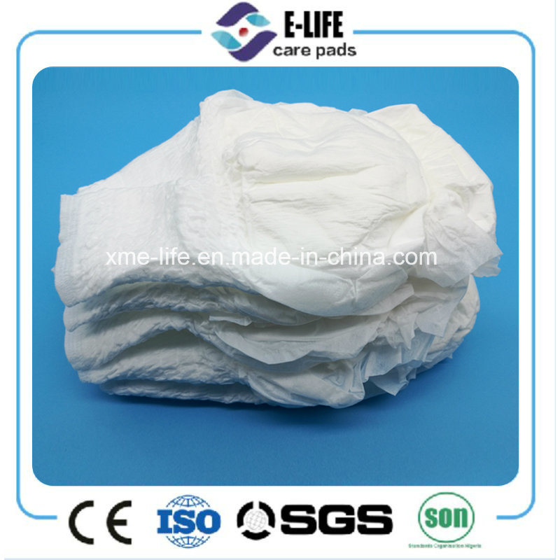 PP Tape XL Thick Super Absorption Disposable Adult Diapers China Manufacturer