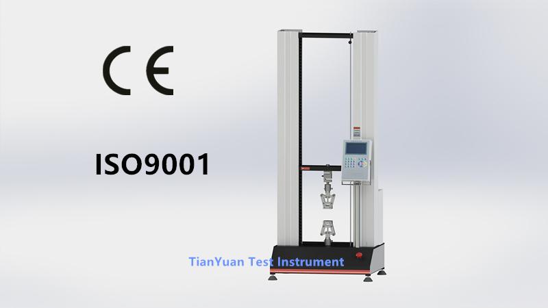 Ty8000 Electronic Universal Testing Machine 5kn / Liquid Crystal Material (stepper motor)