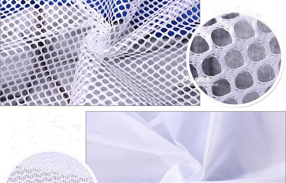 Large Size Polyester Durable Drawstring Mesh Laundry Bag pictures & photos