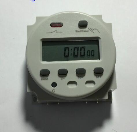 china 220v lcd digital power programmable cycle timer countdown