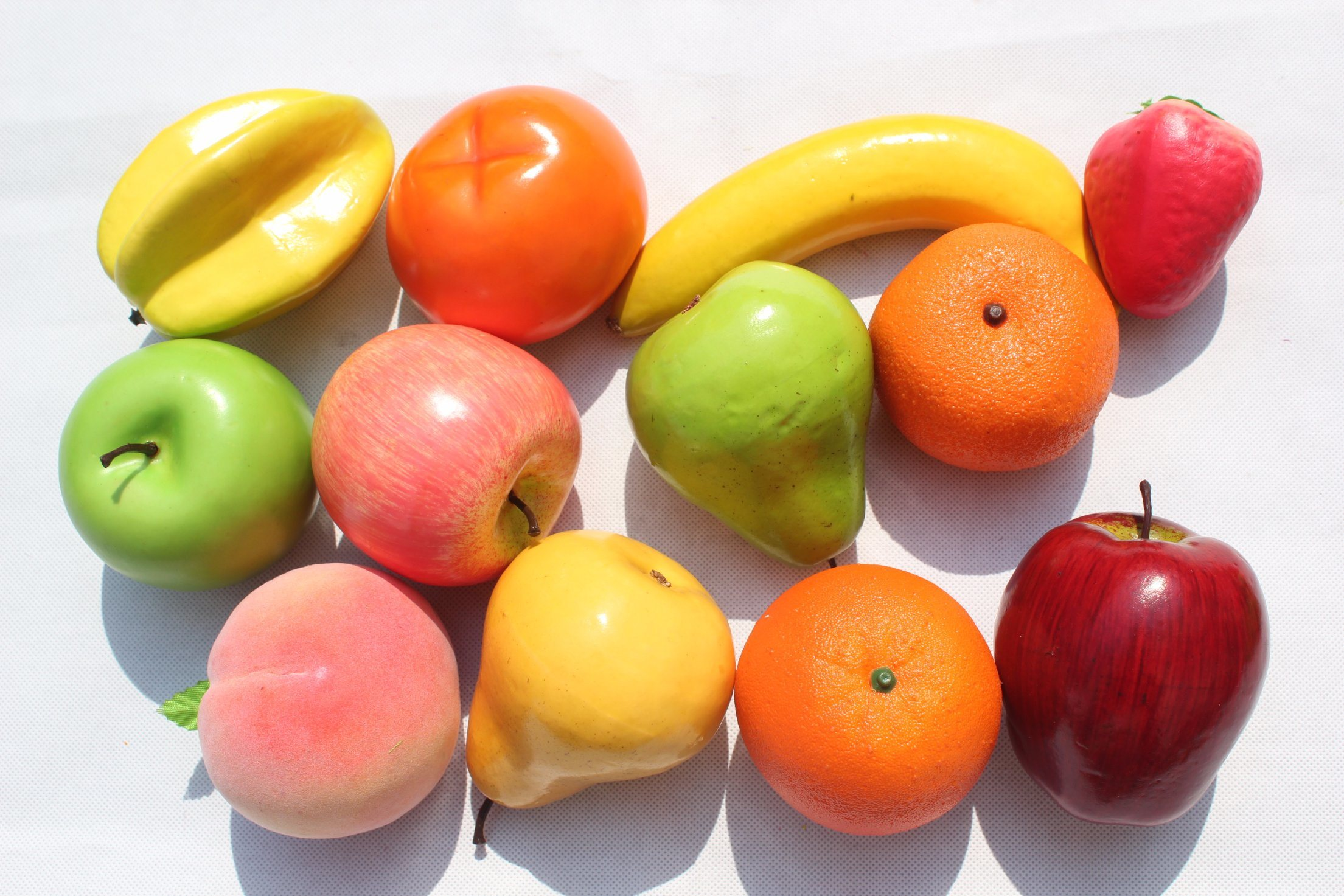 China High Quality Real Touch Artificial Fake Fruits For Party