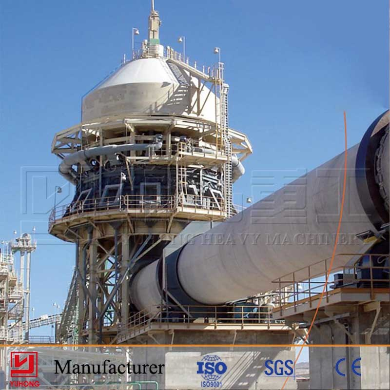 2016 Yuhong 100tpd Small Cement Plant Line with Good Price