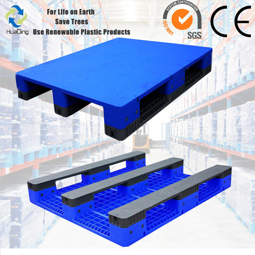 [Hot Item] 1200X1000X150 3 Runners Bottom Smooth Surface Heavy Duty Plastic  Pallet