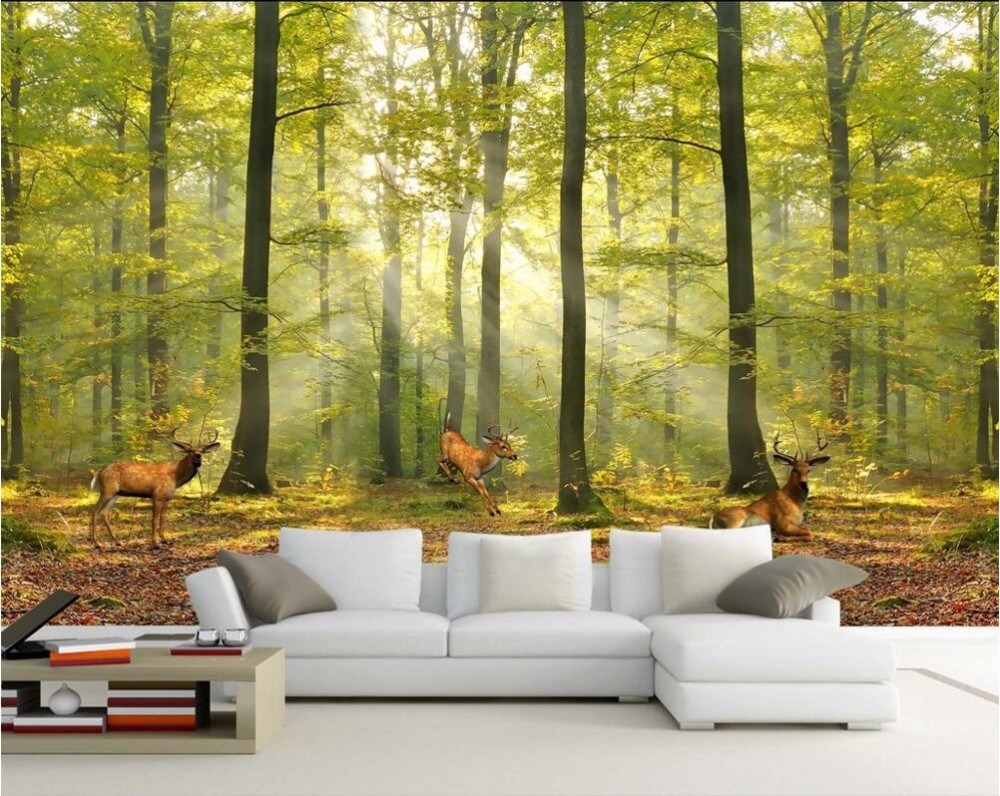 China Wholesale Printable Large Size Wall Mural Modern