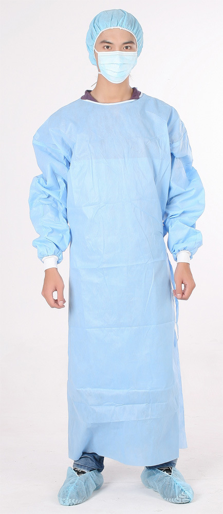 China Disposable Doctor Gown - China Surgical Gown, Medical Gown
