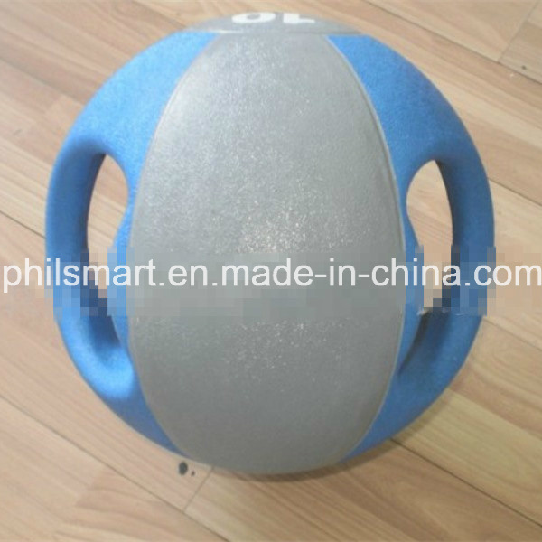 Bestseller Exercise Fitness Double / Dual Handle Grip Medicine Ball