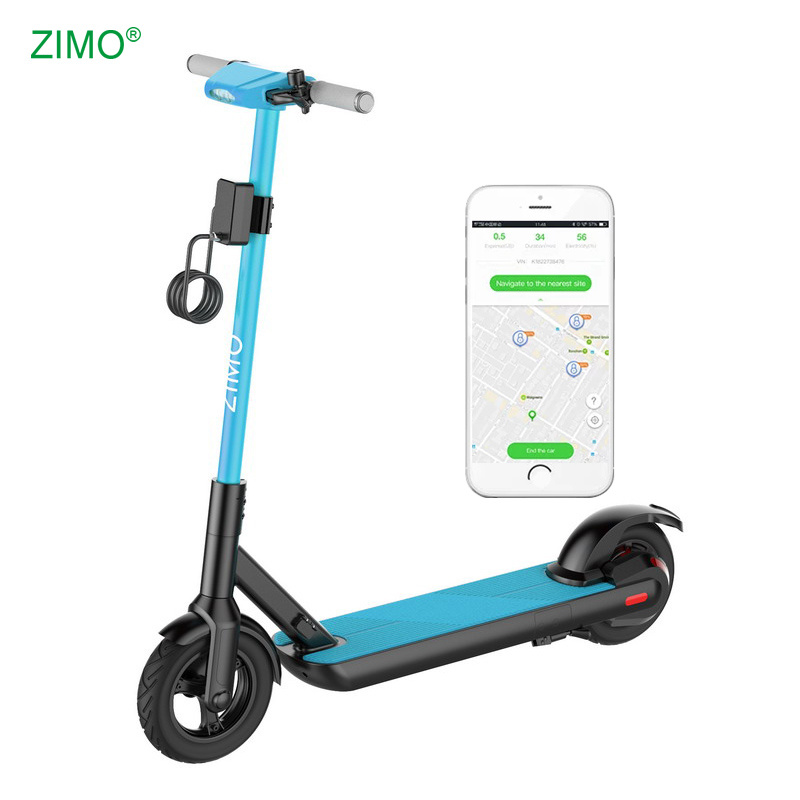 [Hot Item] 2g/3G/4G GPS Lime Bird Dockless Rent Sharing Electric Scooter  with APP Function and GPS Tracking