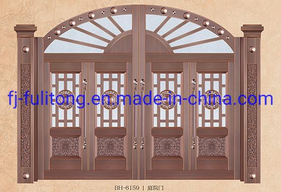 Gate Design Luxury Steel Cooper Door