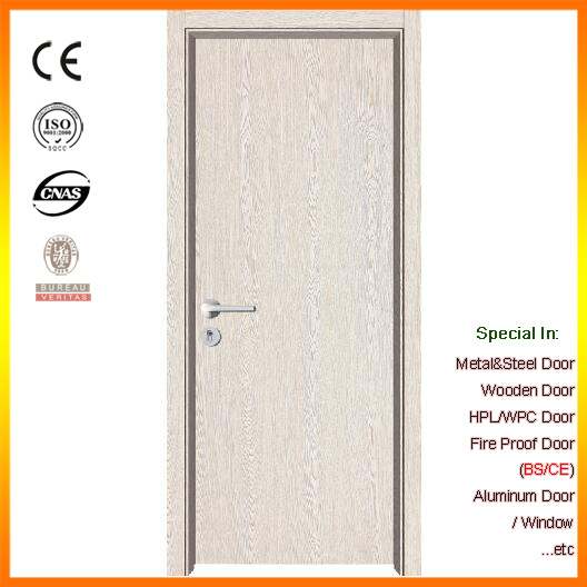 China Pure Color Flush Type Melamine Composite Wooden Door - China ...