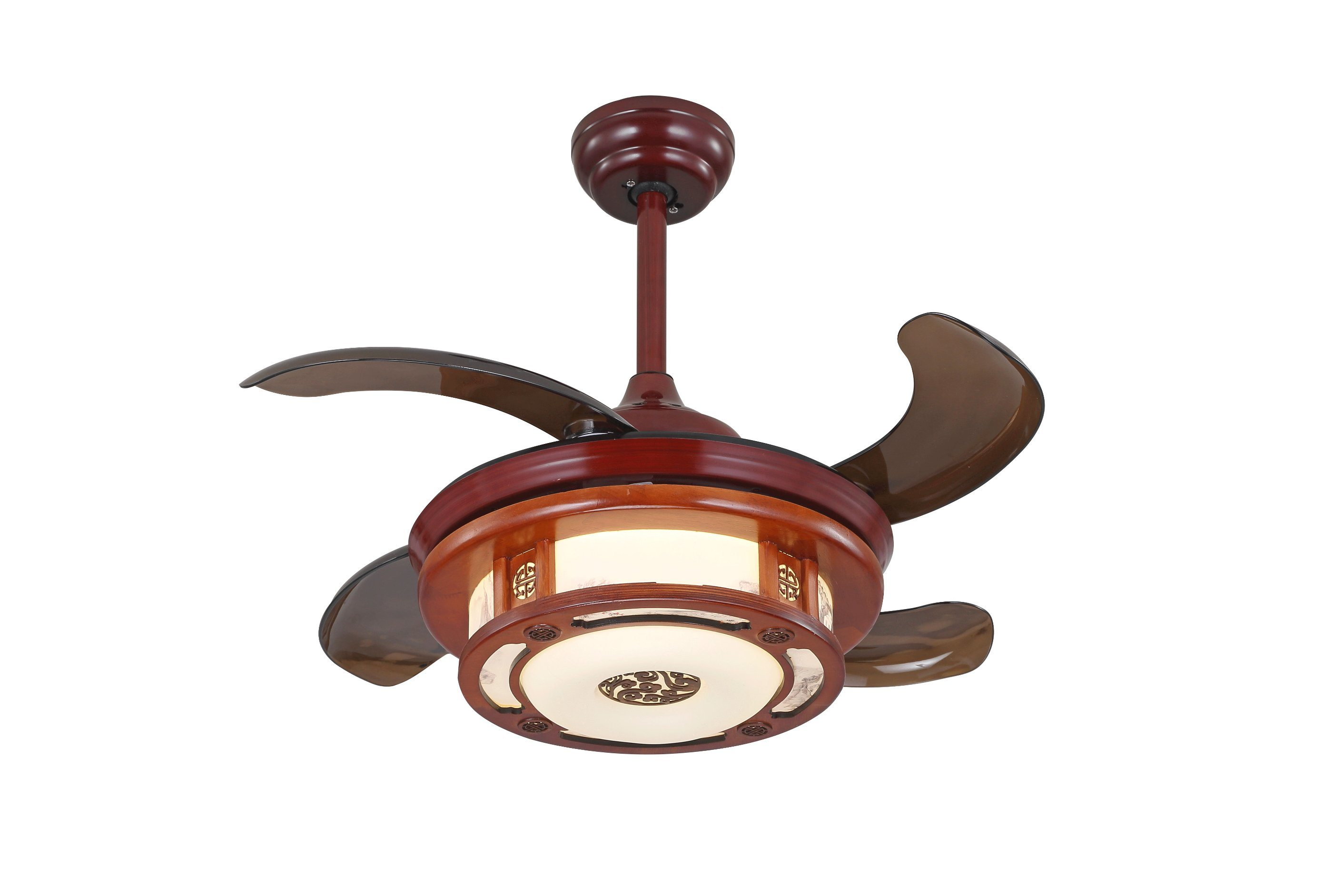 China 42′′ high quality ceiling fan with hidden blades china ceiling fan dc fan