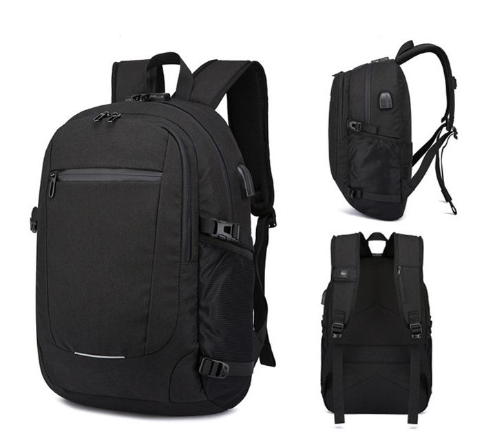 07f2519b4740 [Hot Item] OEM Bag Manufacturers High End Anti Theft Bag Smart USB Backpack  Laptop Bags for Men
