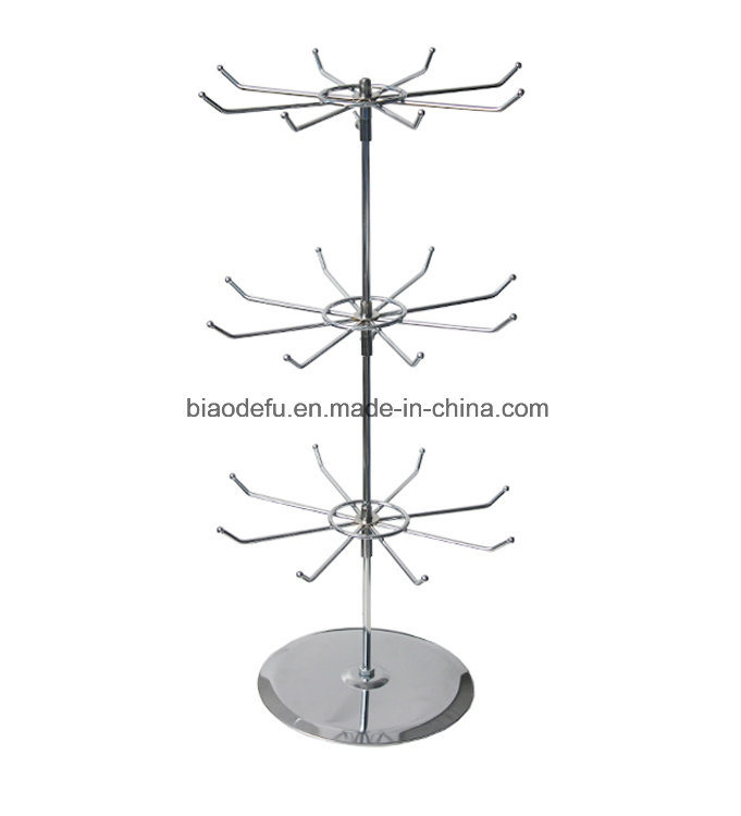 China Table Revolving Display Stand 40 Tier Rotating Rack For New Revolving Jewelry Display Stand