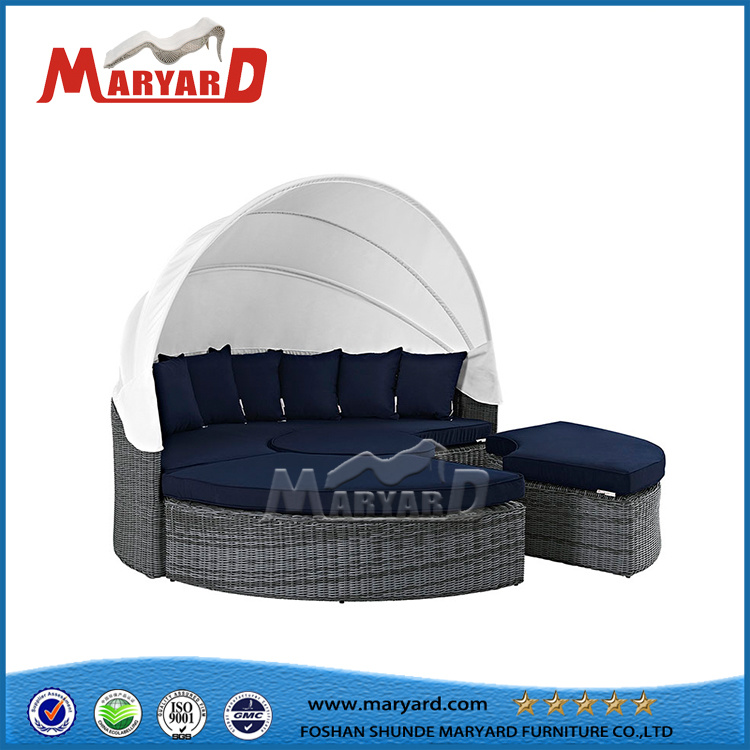 Lovely Garden Treasures Patio Furniture Company Wholesale Round Wicker Sofa Bed
