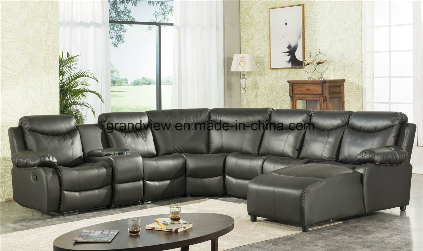China 2018 New Arrival High Quality Sectional Recliner Sofa With Chaise Compeive Price Motion Corner