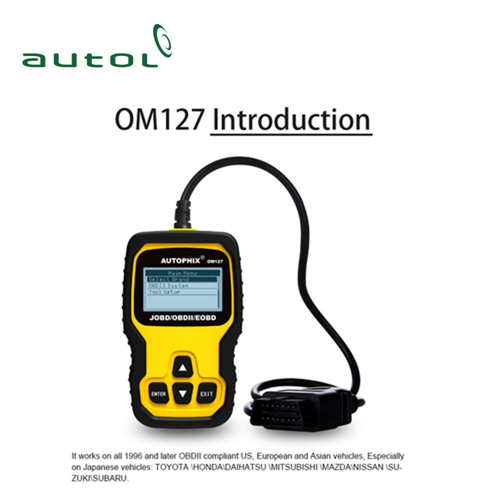 China Autophix Om127 OBD2 Automotive Scanner Jobd Erase