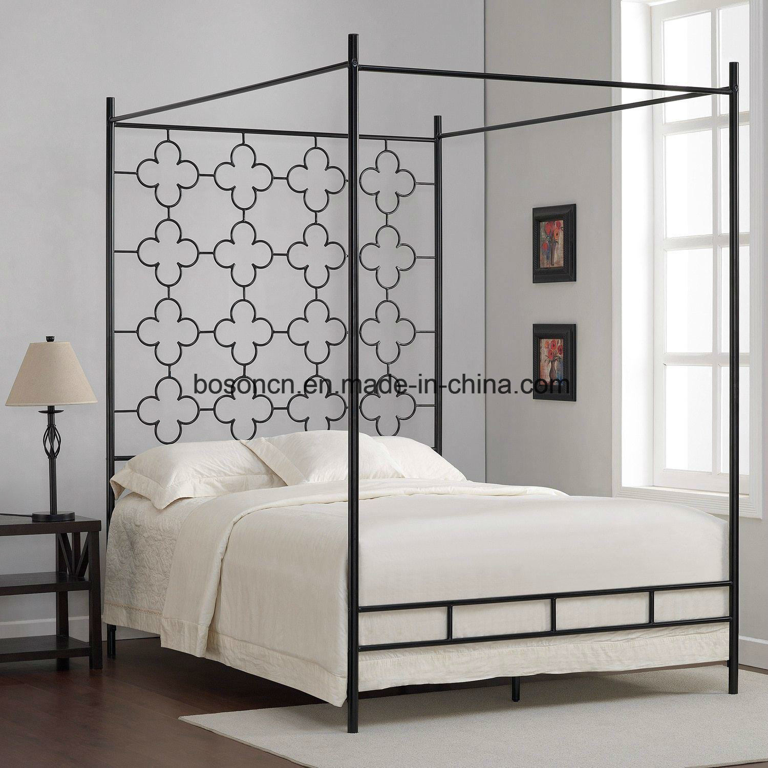 - China Unique Metal Canopy Bed Frame - China Metal Canopy Bed