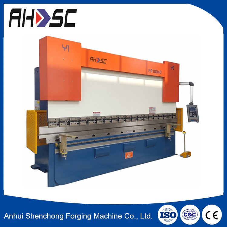 100t 3200mm Folding and Bending Hydraulic CNC Press Brake Machine pictures & photos
