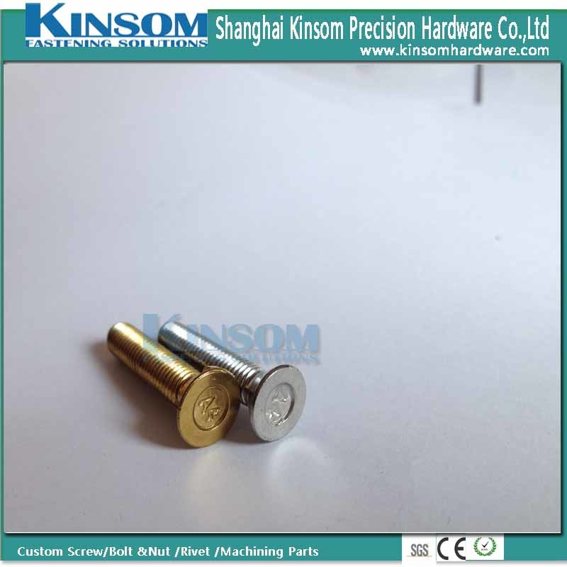 Ss Countersunk Head Cooper Nickel Coating Machine Screw for Expansion Bolt and Nut pictures & photos