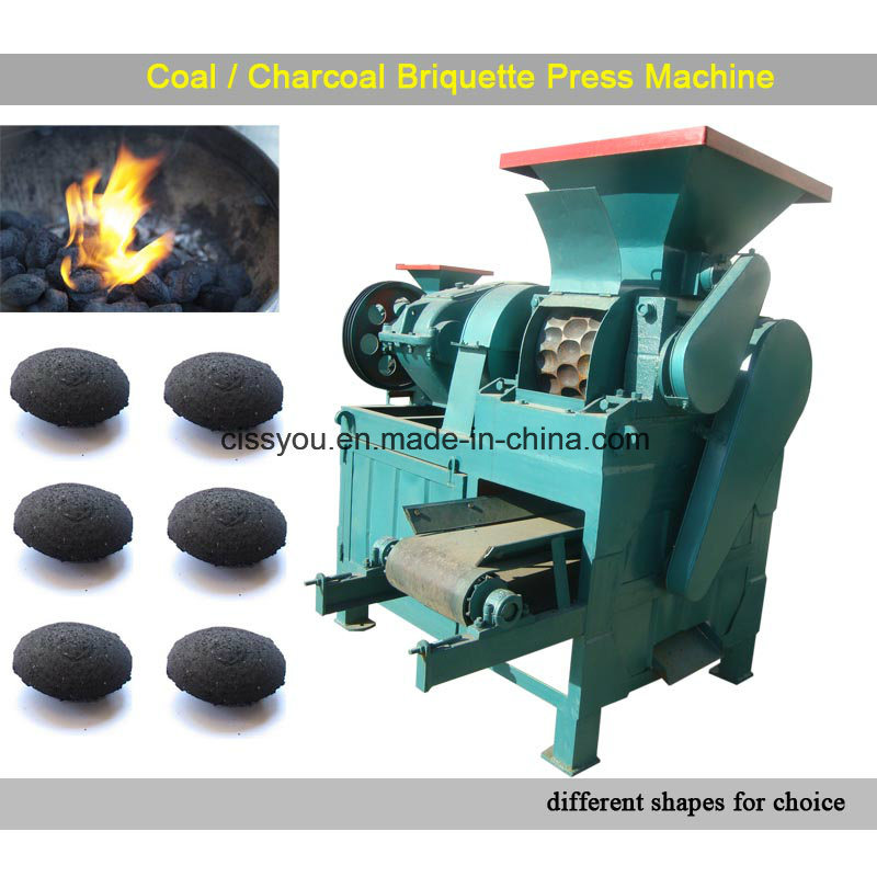 Coal and Charcoal Briquette Press Briquetting Making Machine pictures & photos