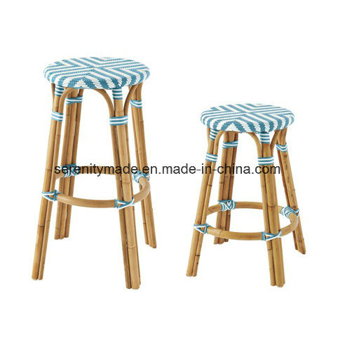 Swell Hot Item Outdoor Furniture Stackable French Bistro Rattan Restaurant Bar Stools Theyellowbook Wood Chair Design Ideas Theyellowbookinfo