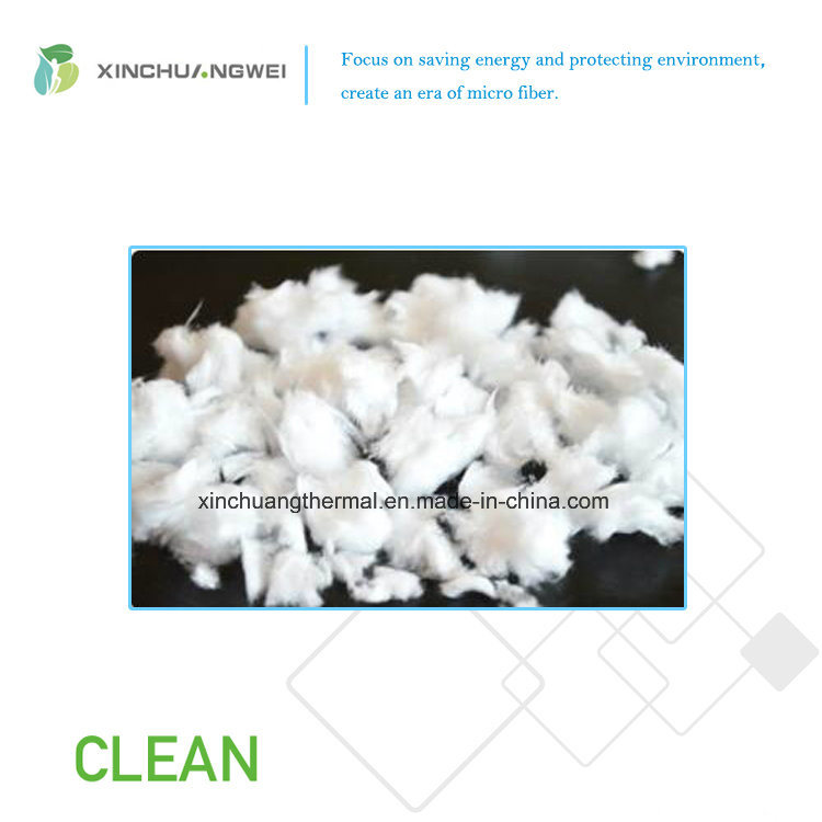 Heat Preservation Non Frammable Hydrophobic Glass Fiber Spraying Batt