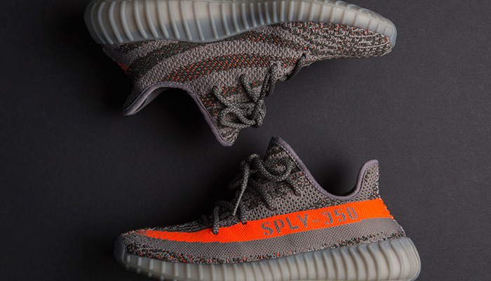 f97f29d46bb1a China Sply-350 of Yeezy 350 Boost V2 Black and Grey  Orange Color Sports  Shoes - China Yeezy Shoes
