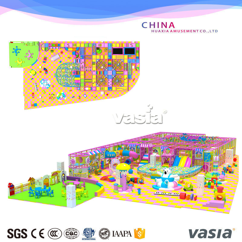Candy Themes Indoor Kids Park Playground for Play Center or Shopping Mall pictures & photos
