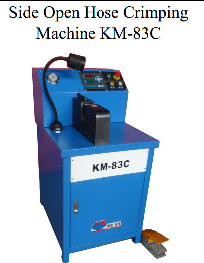 China Customize Side Open Crimping Machine Crimping Power