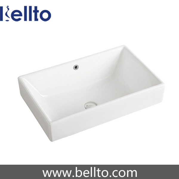 cUPC/CSA approval Ceramic Drop in Sink for Lavatory (6049) pictures & photos