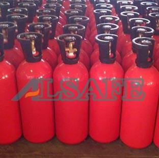 China Keg Aluminum Compressed Carbon Dioxide Cylinder