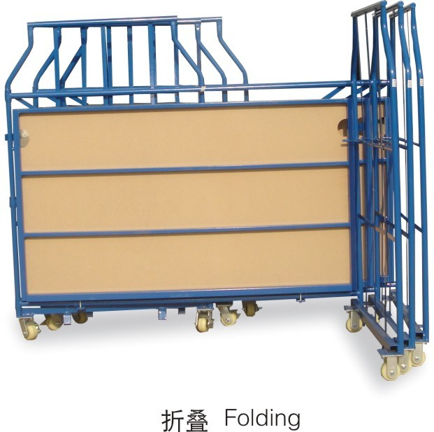 Warehouse Steel Storage Rolling Cage pictures & photos