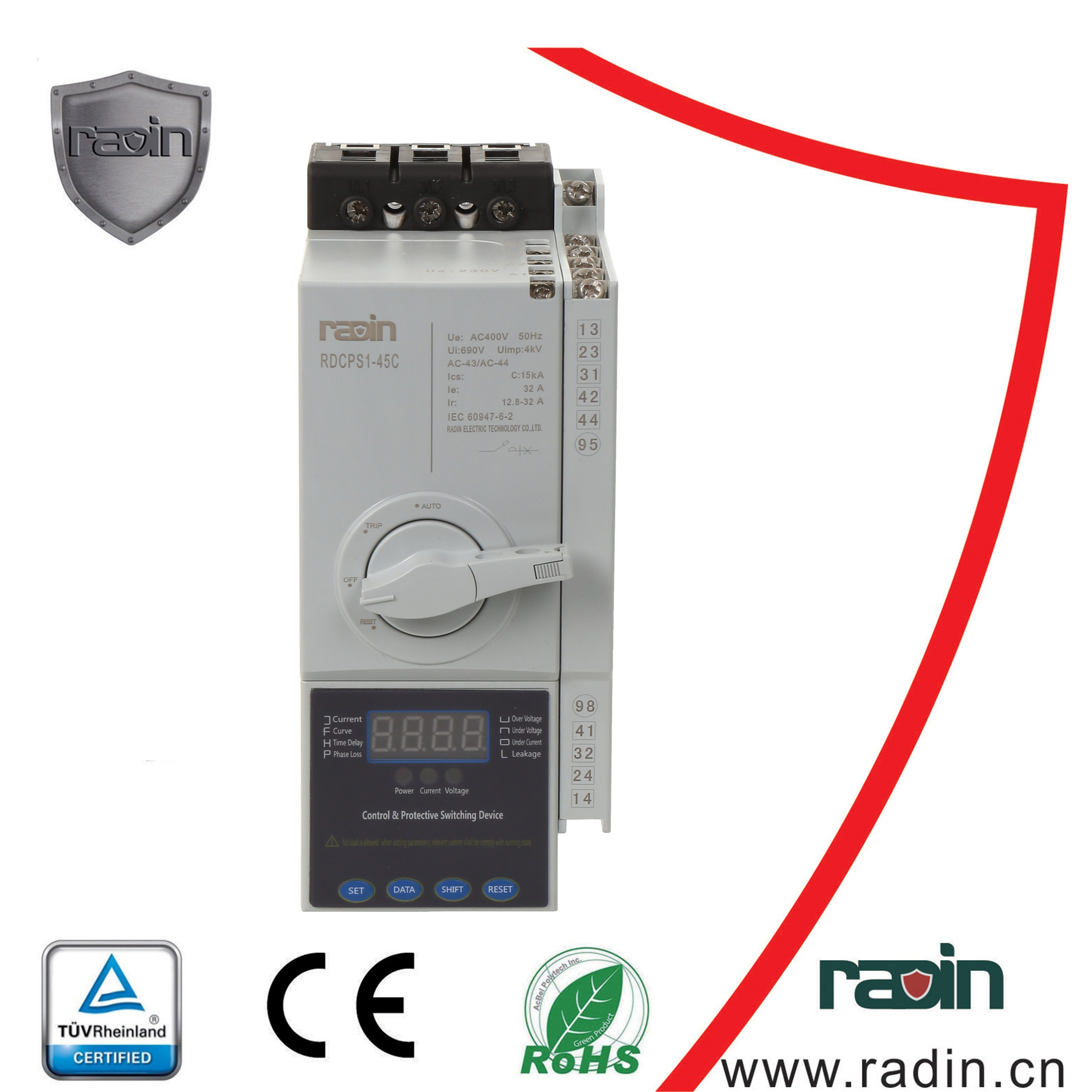 China Motor Drive Control Relay Fuse Circuit Breaker Isolator Used In Protection Switch Kb0 Rdcps Protective Driver