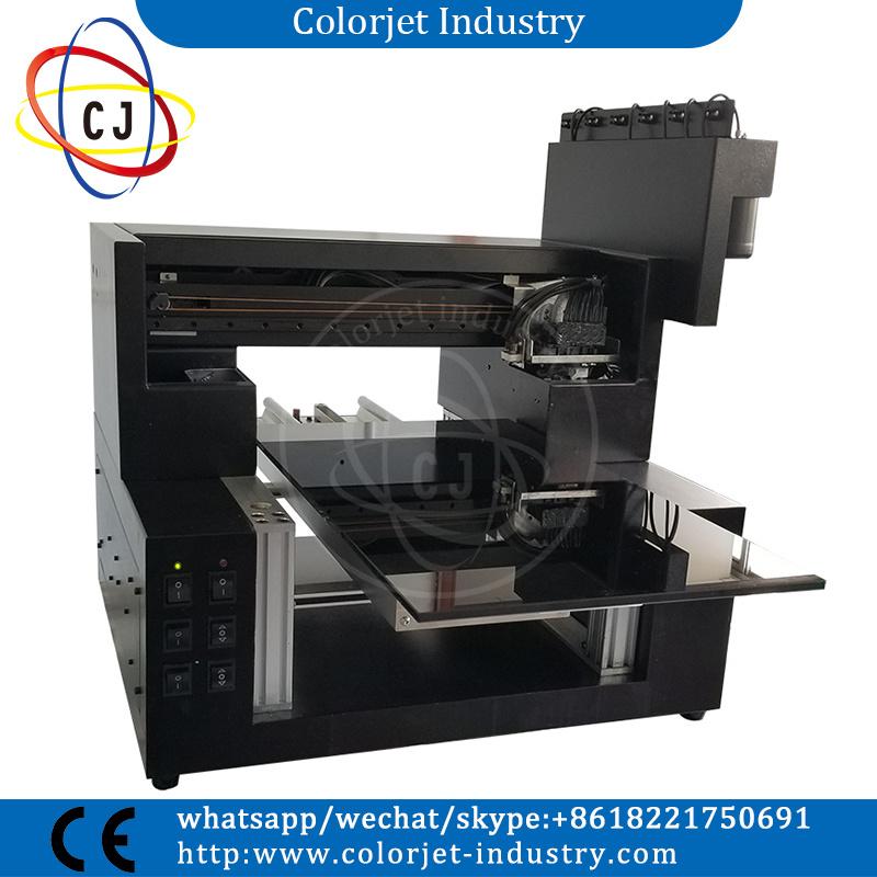 High Quality Small Format A3 Desktop Uv Flatbed Printer