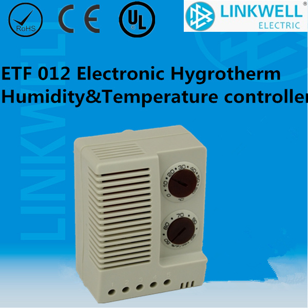 China Small Electronic Temperature And Humidity Controller With CE  Certificate For Electrical Control Cabinet (ETF 012)   China Thermostat, ...