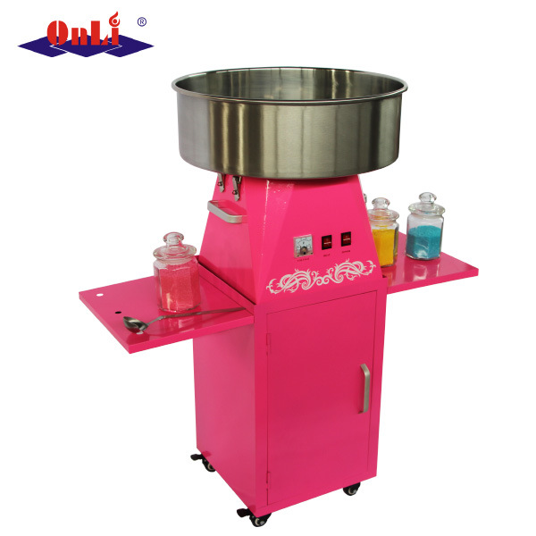 Hot Sale Professional Electric Automatic Flower Candy Floss Maker Cotton Candy Machine with Cart Price pictures & photos